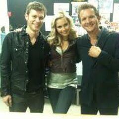 Avec Sebastian et Claire