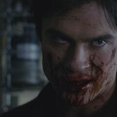 Damon en vampire augustine