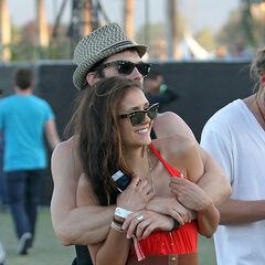 Avec Ian au festival de Coachella (2012)