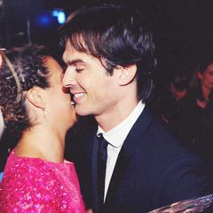 Avec Lea Michele aux People's Choice Awards (9 janvier 2013)