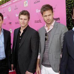 Avec Michael, Zach et Matt