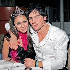 Avec Ian à son anniversaire (2011)