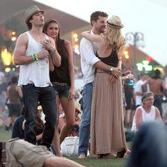 Avec Nina à Coachella (2011)