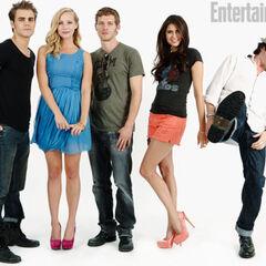 Avec Paul, Candice, Nina et Ian
