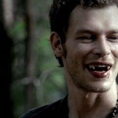 Klaus en vampire