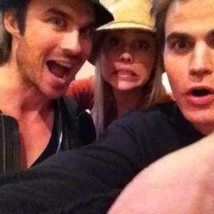 Avec Paul & Claire (juin 2012)