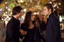 Damon, Elena et Stefan