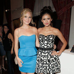 Avec Nina au Young Hollywood Awards (2010)