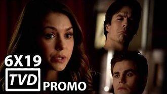 "The Vampire Diaries 6X19 Promo ""Because"""