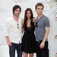 Avec Ian et Nina