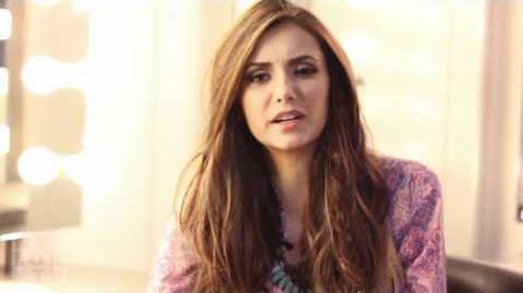 Nina Dobrev on Nylon TV - February 2012 (VOSTFR)