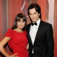 Ian somerhalder et Lea Michele Emmy Awards Awards 2011
