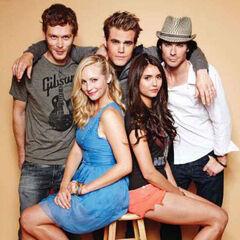 Avec Joseph, Candice, Nina et Ian