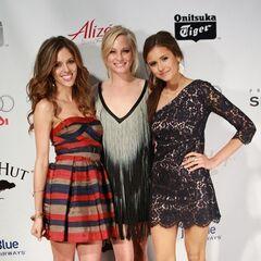 Avec Kayla et Candice