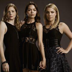 Valerie, Nora et Mary Louise