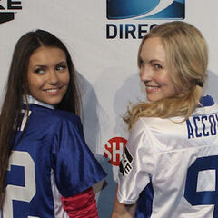 Avec Nina au Superbowl Game