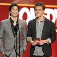 Ian Somerhalder et Paul Wesley People's Choice Awards (2012)