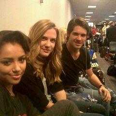 Avec Katerina et Sara