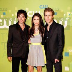 Avec Ian et Nina à la CW Party