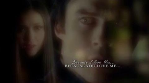 Damon & Elena 4x11 Because I love you...