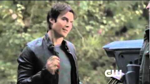 The Vampire Diaries Webclip 4x11 Damon Helps Jeremy Prepare To Hunt
