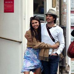 Avec Nina à Paris
