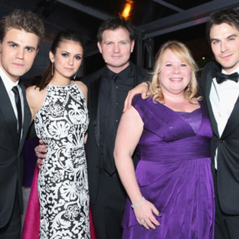 Avec Paul, Nina, Julie & Ian à la Elton John Oscars Party (24 février 2013)