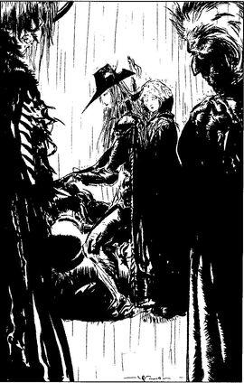 Xeno clan D encounter black and white final