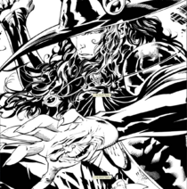 Ryan Benjamin VHD Message from mars comic number 2 black and white preview 7 comp