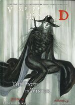 Vampire Hunter D volume 28 Tiger in Winter cover