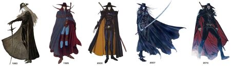 Vampire Hunter D Profile designs