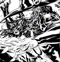 Ryan Benjamin VHD Message from mars comic number 2 black and white preview 7p comp