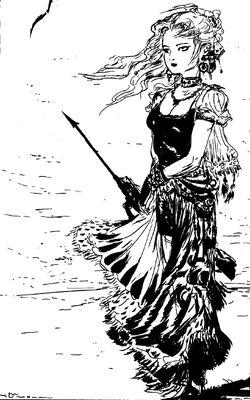Meg black and white