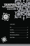 Memories vol01 contents