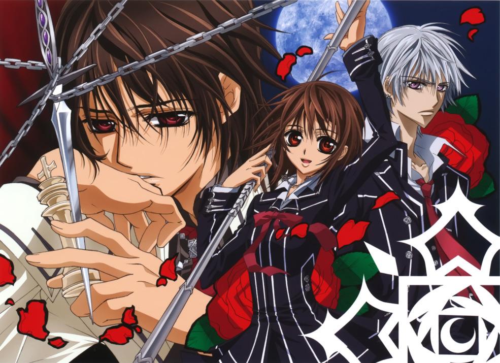 Kết quả hình ảnh cho Vampire Knight anime