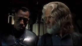Blade II - Scud and Whistler clash