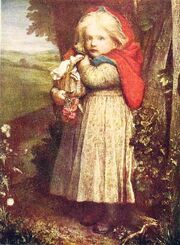 661px-George Frederic Watts - Red Riding Hood - Project Gutenberg eText 17395