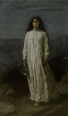 300px-John Everett Millais, The Somnambulist