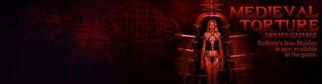 Bathory's Iron Maiden banner