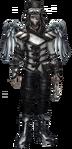 Male Chrome Steampunk costume