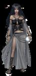Female Goth Oracle costume