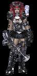 Female Chrome Steampunk costume