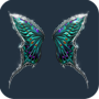 Bejeweled Butterfly Wings feed