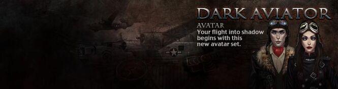 Dark Aviator banner