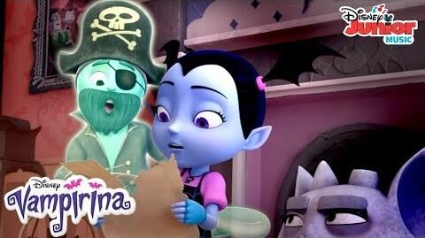 Back Where a Pirate Belongs Music Video Vampirina Disney Junior