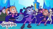 Everybody Scream, Everbody How l Music Video Vampirina Ghoul Girls Rock! Disney Junior