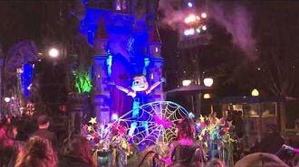Vampirina Frightfully Fun Parade Debut Mickey's Halloween Party 2018 Disneyland