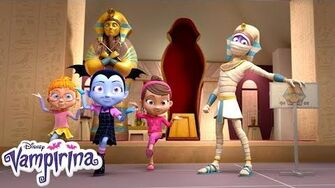 Lonely Being King Music Video Vampirina Disney Junior