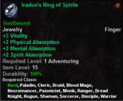Iradun's Ring of Spirits