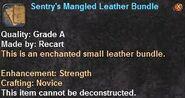 1 Sentry's Mangled Leather Bundle